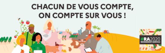 Le recensement agricole 2020, c'est parti !