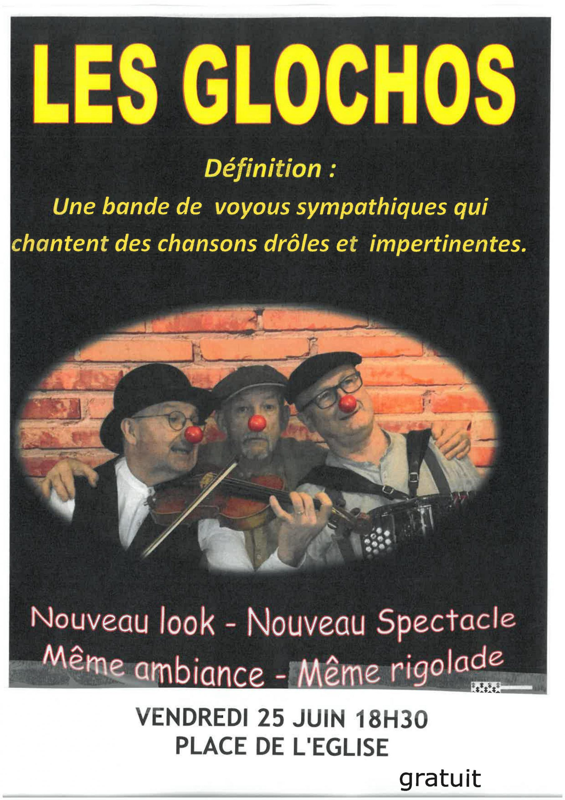 Les Glochos - Spectacle Gratuit
