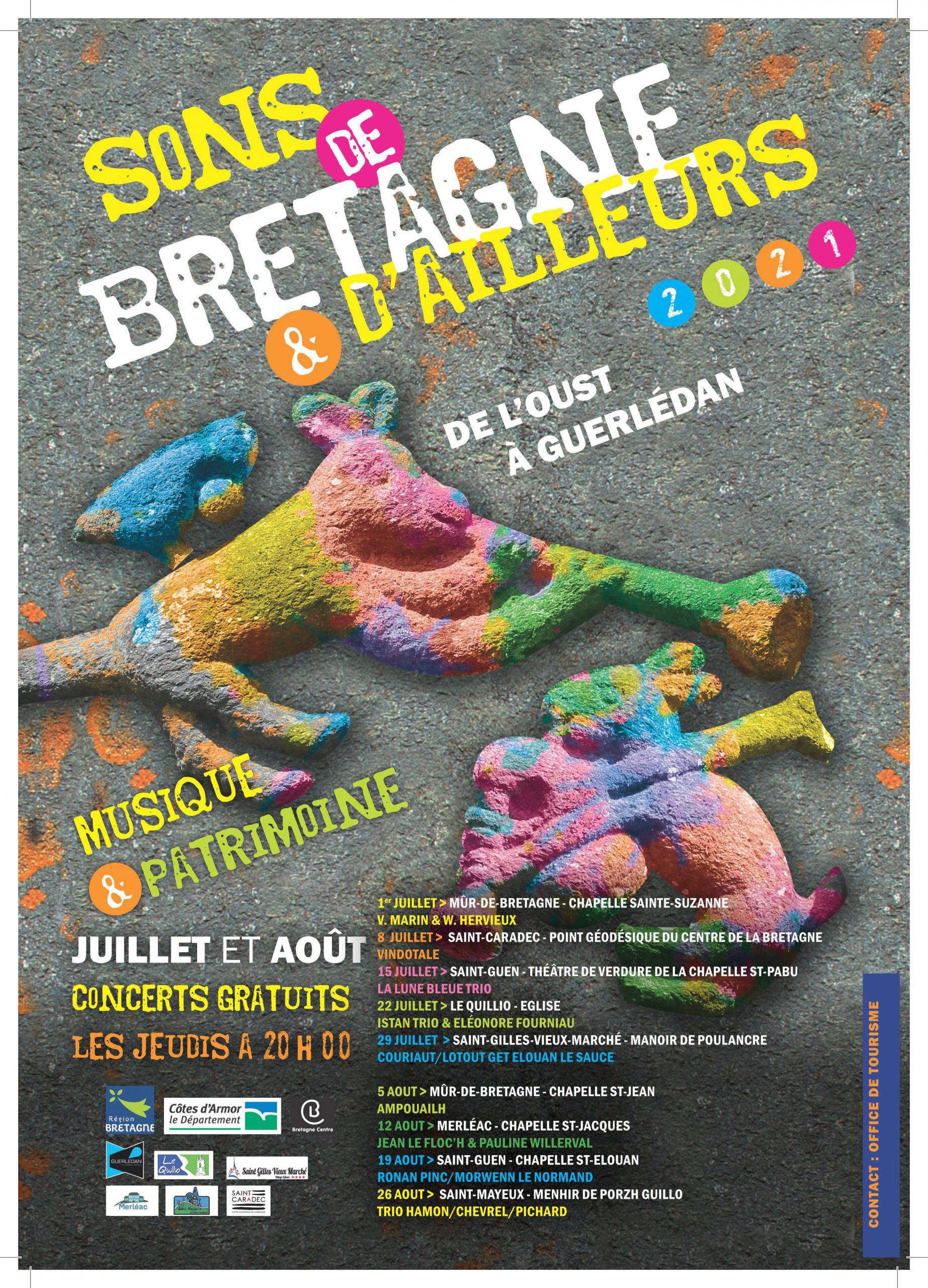 SONS DE BRETAGNE & D'AILLEURS DE L'OUST A GUERLEDAN 2021