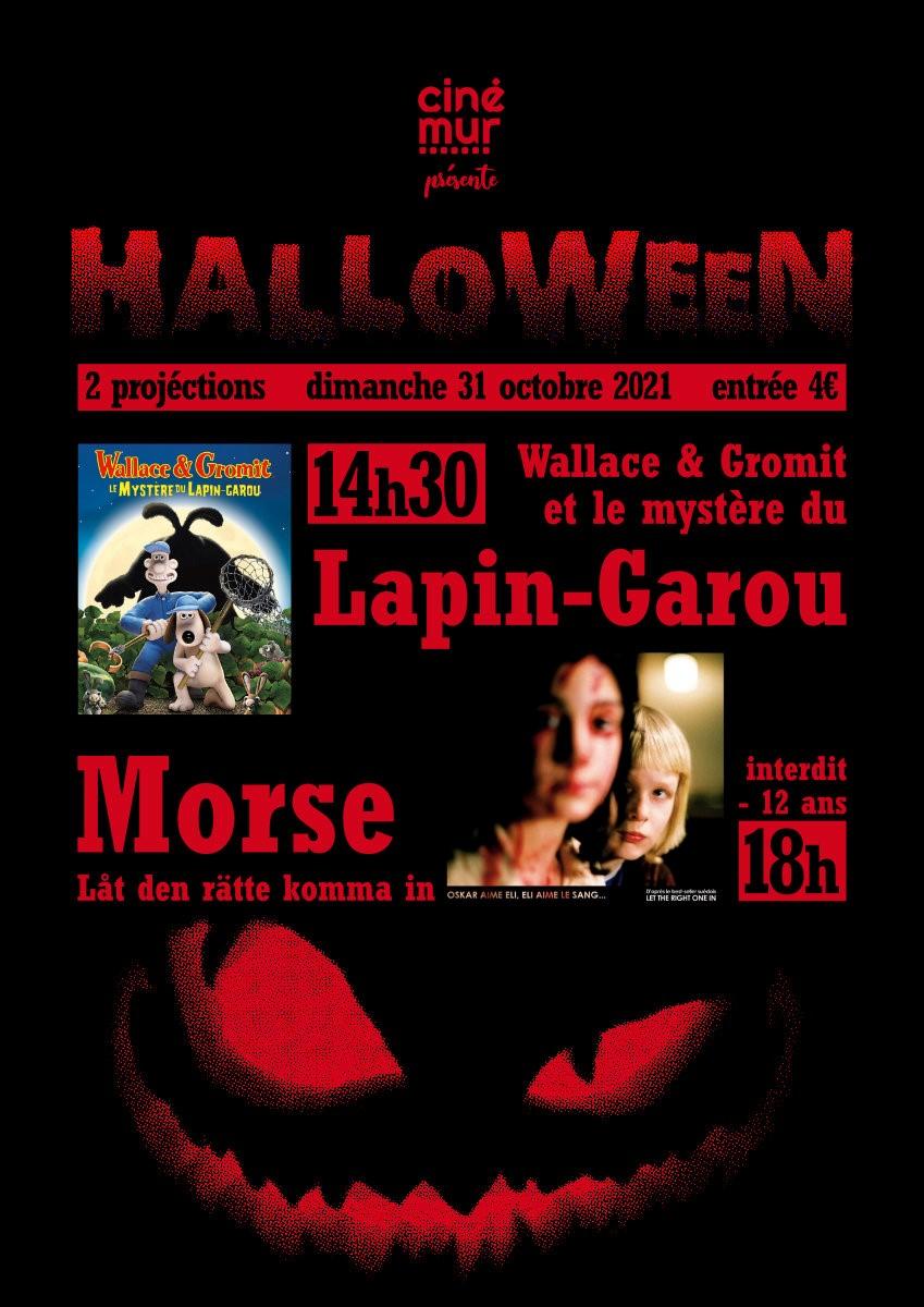 """Séances cinémur """"Halloween"""" - 2 projections"""